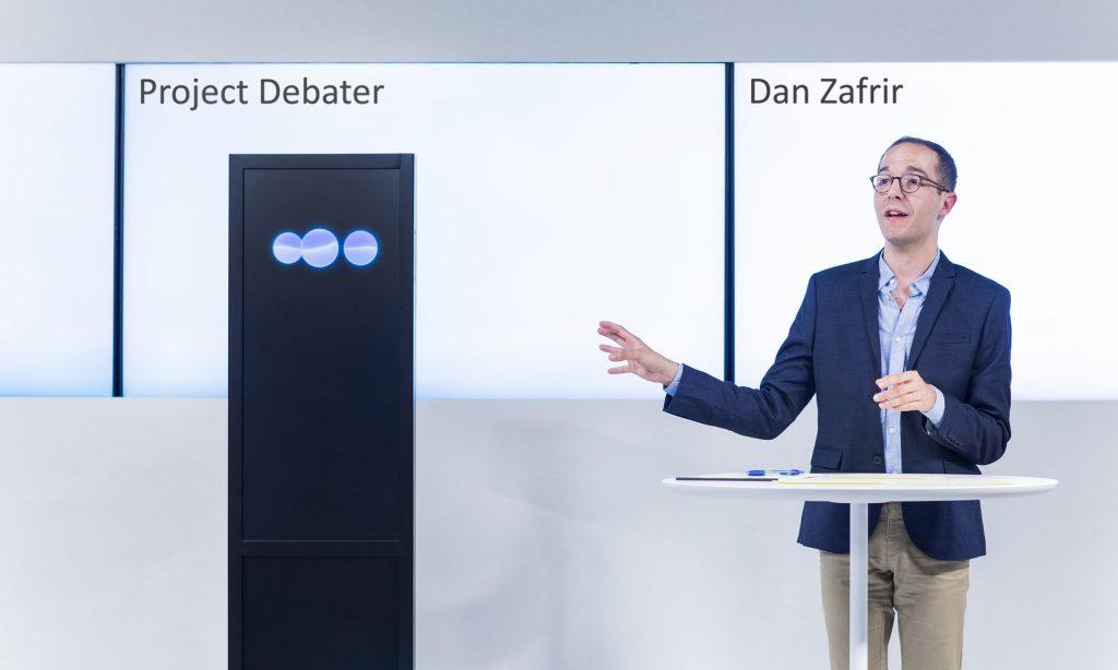 Projeto Debatedor da IBM mostra habilidades de argumentação da inteligência artificial - foto: IBM