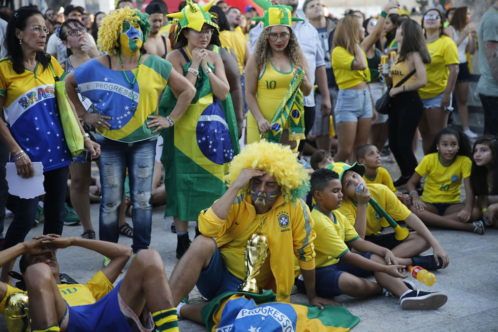 A inteligência artificial não previu a saída antecipada do Brasil .Foto Fernando Frazão/Agência Brasil