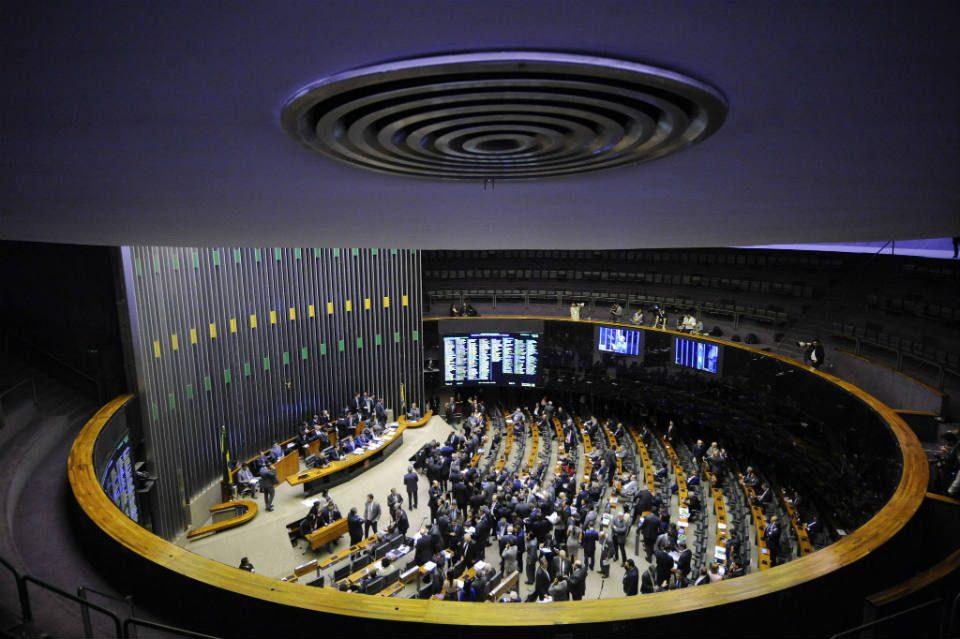 Visão geral do plenário do congresso nacional - Foto: Marcos Oliveira - Agência Senado Conversas sobre o futuro