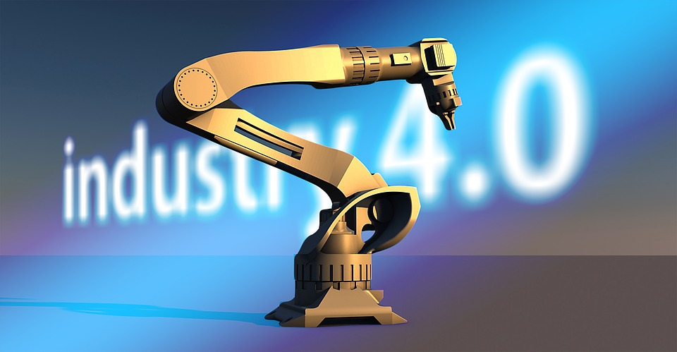 No Brasil, a passos tímidos, as empresas têm começado a implementar a 4ª revolução industrial. Segundo a Agência Brasileira de Desenvolvimento Industrial (ABDI), menos de 2% das empresas estão inseridas neste conceito global. Imagem: Pixabay