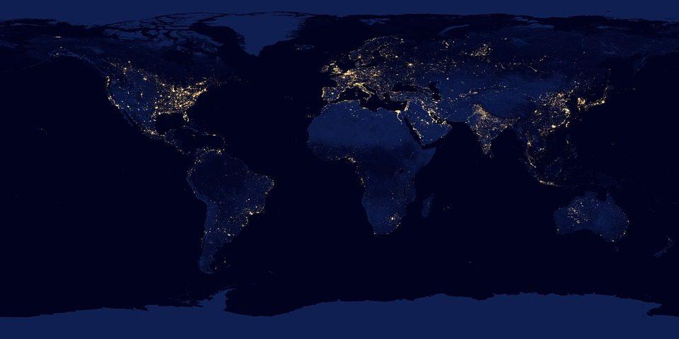 O desenvolvimento das redes 5G carrega dúvidas sobre a segurança da sociedade. Foto: Nasa
