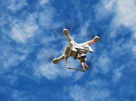 Uso de herbicidas é reduzido com utilização de drones.