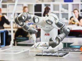foto ilustrativa de um robô matéria sobre impactos da pandemia no mercado de trabalhoFoto: ABB