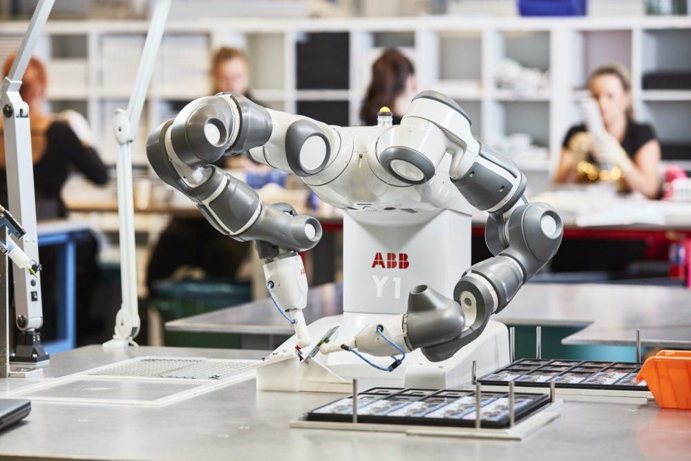 foto ilustrativa de um robô Foto: ABB