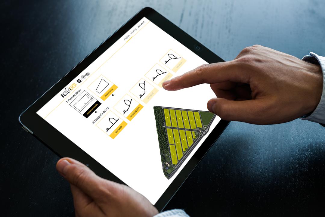 Startup usa tecnologia para apresentar ao comprador uma grande diversidade de projetos de arquitetura para o seu lote