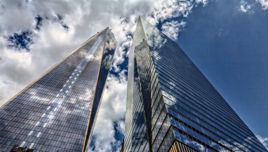 foto de prédios altos - arranha céus. imagem: pixabay