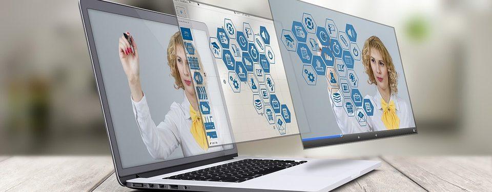 Imagem ilustrativa de computadores