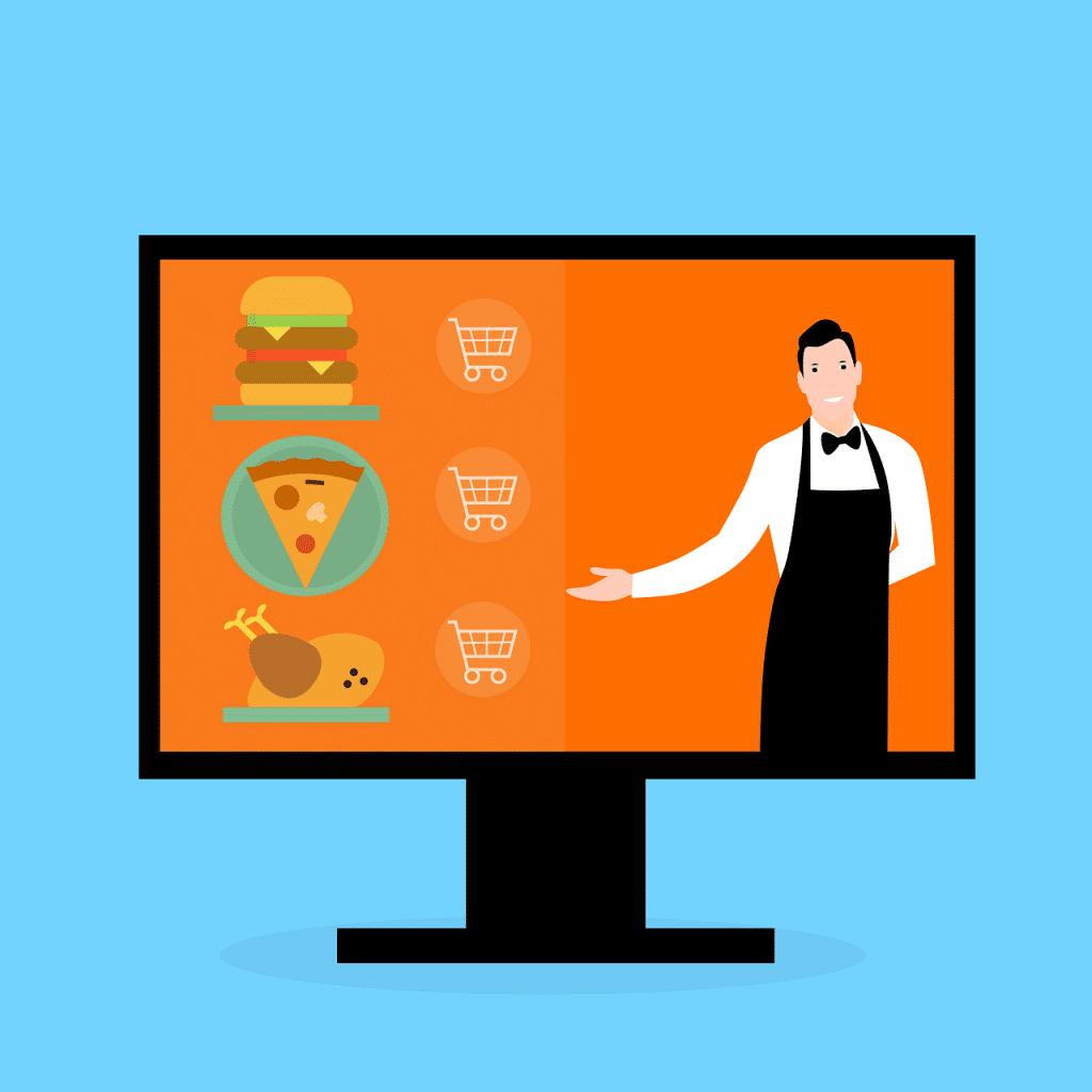 ilustracao sobre empresas de tecnologia na area de alimentacao foodtech - pixabay