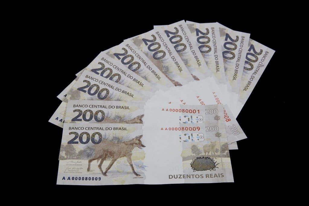 notas de 200 reais - fonte fotos públicas