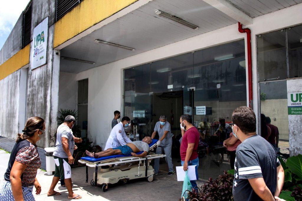 atendimento a doente em upa no estado do amazonas - o quadro de crise se agrava. Foto: Cicero Pedrosa Neto /Amazonia Real