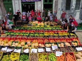 Movimentos sociais articulam distribuição de comida diante do aumento da desigualdade no Brasil - Foto: MST