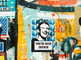 ilustração montagem com foto do presidente do Facebookhttps://www.wired.com/story/italy-futurist-movement-techno-utopians/