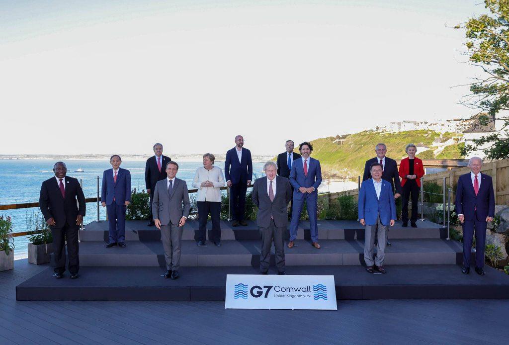 Imagem ilustrativa dos participantes do grupo G7, das principais potências econômicas do planeta Notas econômicas