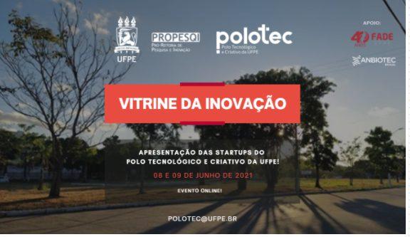 reprodução de banner sobre evento de inovação na área de biotecnologia