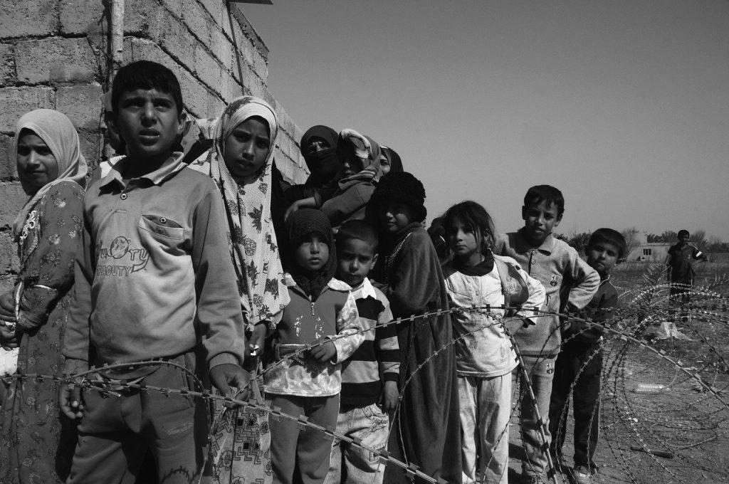 criancas em guerra - foto pixabay